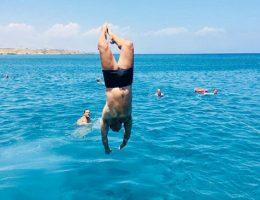 הפלגה ללגונה הכחולה בקפריסין